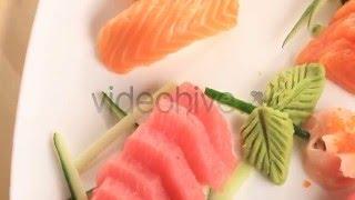 Salmon Nigiri and Tuna Sashimi @ Tokyo Treat,Mumbai Call 02224999924