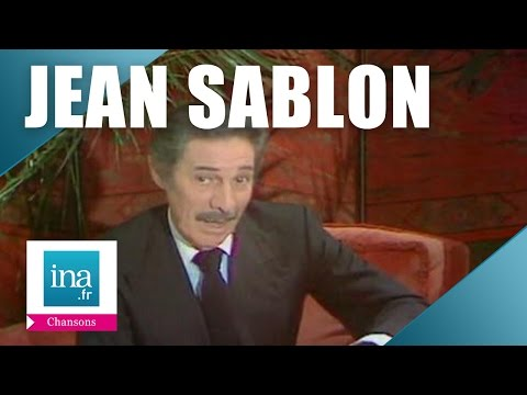 "Jean Sablon ""Ces petites choses"" (live officiel) 