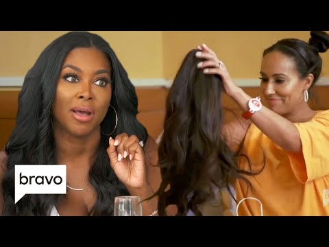 Tanya Sam Finds A Wig... Is It Kenya's?! | RHOA Highlights (S12 Ep12)