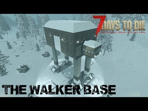 7 Days To Die (Alpha 15.1) - The Walker Base (Attack of the 266th Day Horde)