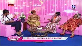Paroles de Femmes :  Cohabitation belle fille- Belle famille du 12 09 2017 Équinoxe tv