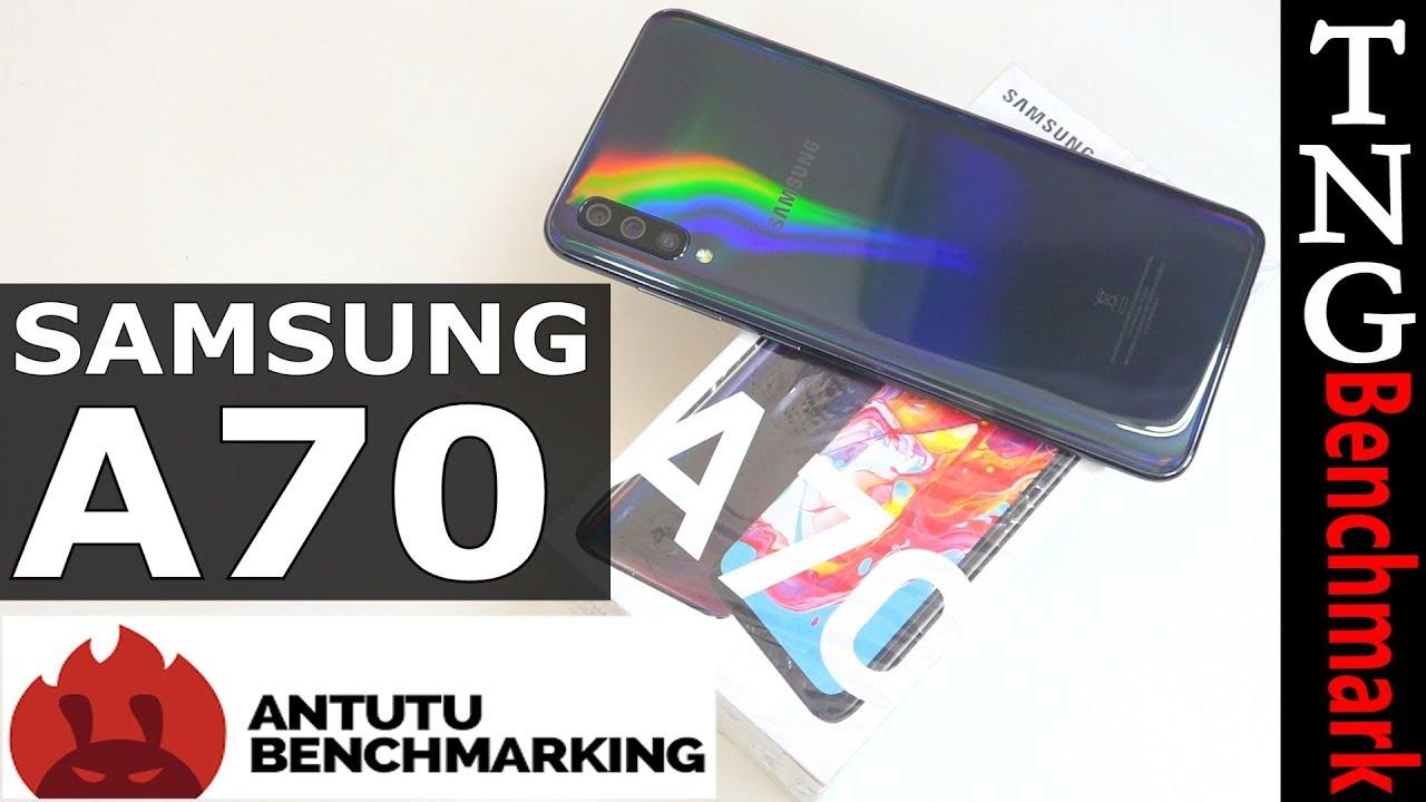 Samsung Galaxy A70 ANTUTU Benchmark