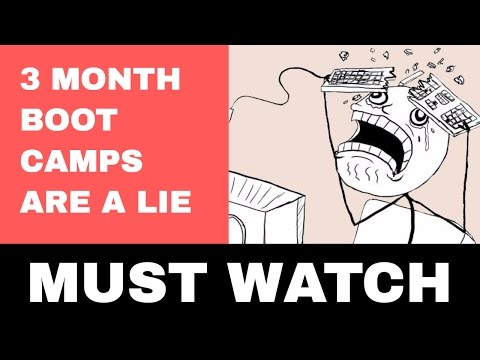 You Can't Become a Developer in a 3 Month Bootcamp