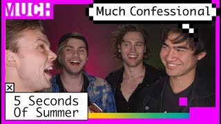 5 Seconds Of Summer Confess Their Dragon Ball Z Obsession | Much Confessional