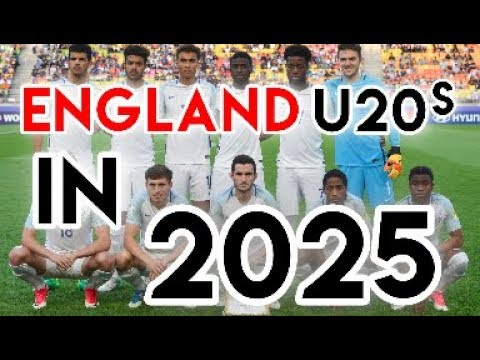 Where are England's World Cup winning U20s in 2025? - According to FM17