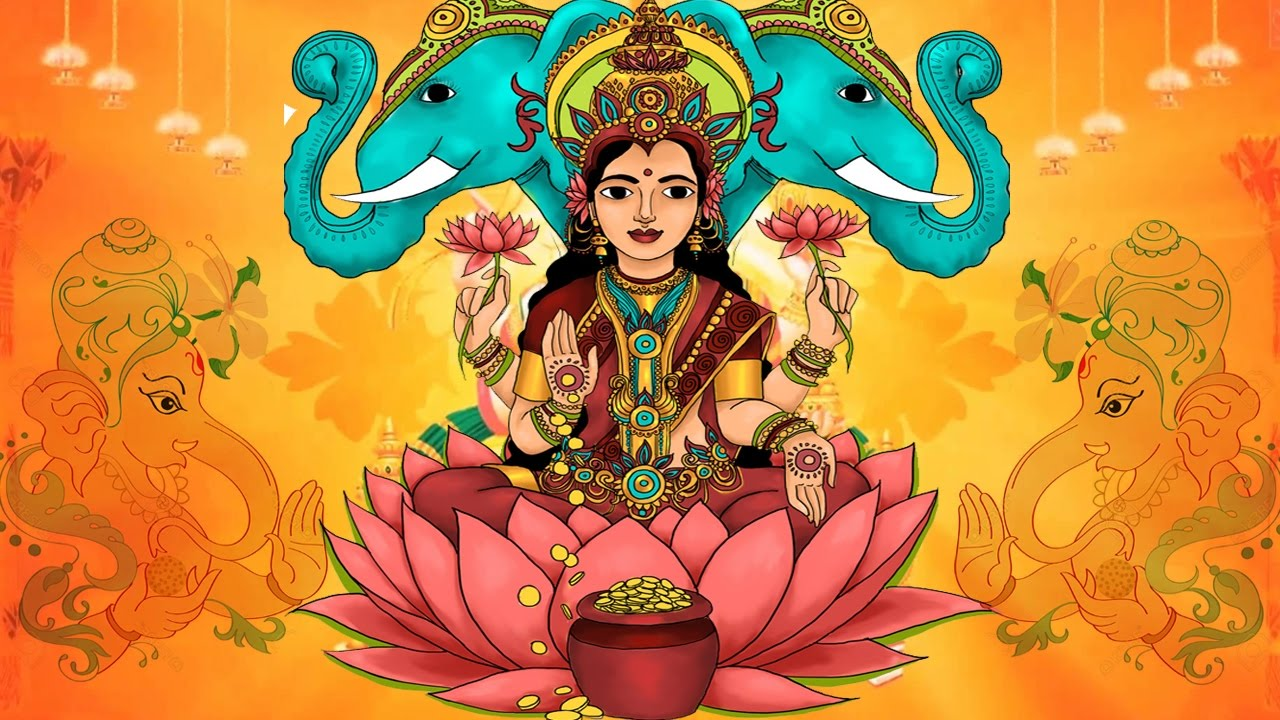 Goddess Lakshmi Stories - Goddess Of Wealth and Beauty - Stories for Kids - YouTube