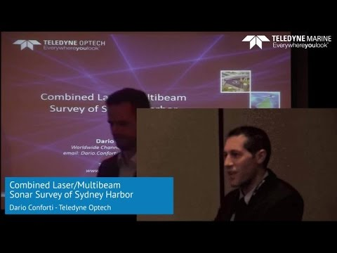 Combined Laser/Multibeam Sonar Survey of Sydney Harbor