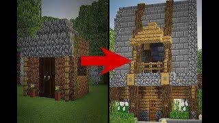 Wie Baut Man Ein Animiertes Redstonehaus In Minecraft Minecraft - Minecraft haus bauen german