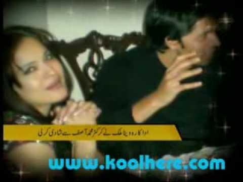 veena malik and asif scandal