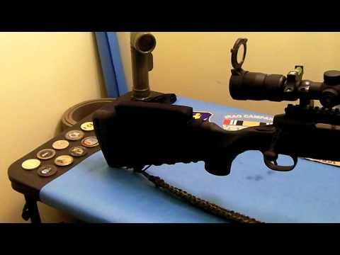 BlackHawk Rifle Cheek Pad - YouTube
