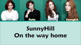 Video SunnyHill (써니힐) - On the way home (집으로 가는 길) [Color Coded Han/Rom/Eng Lyrics] download MP3, 3GP, MP4, WEBM, AVI, FLV Agustus 2018