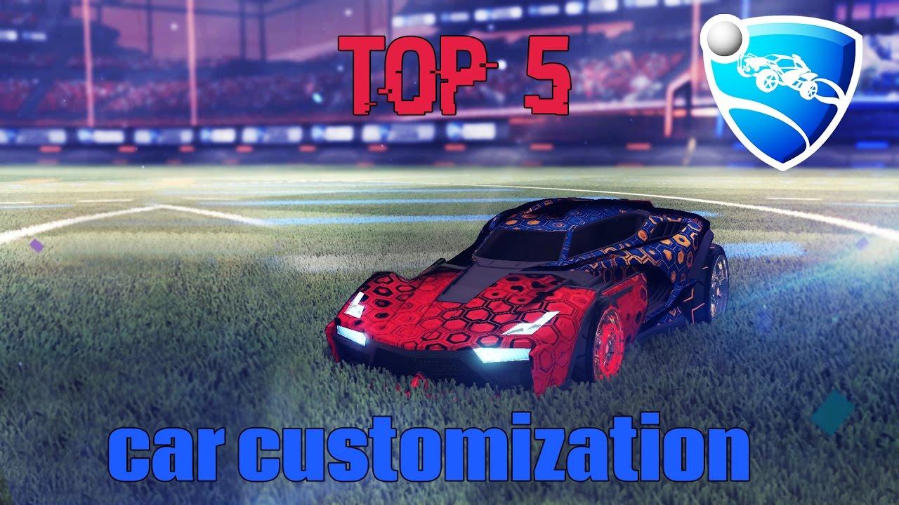top 5 best car customizations rocket league part 2 youtube
