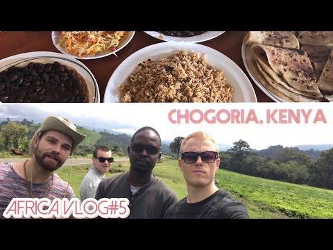 CHOGORIA, KENYA 🌍Drone Shots, Tea Farms, Moonshine & Kenyan Food – Africa Daily Travel Vlog Day 5!