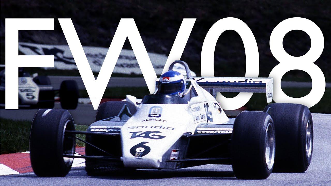 Video: Williams FW08-01