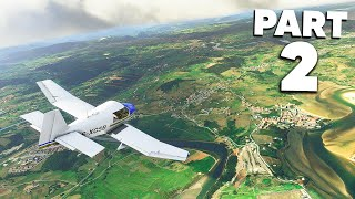 MICROSOFT FLIGHT SIMULATOR 2020 Gameplay Walkthrough Part 2 - FIRST SOLO FLIGHT & NAVIGATION