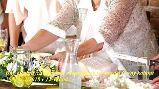 Svatba v Restauraci černý kohout 5. 8.  2017