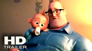 INCREDIBLES 2 - New TV Spot + Trailer 2018 (Brad Bird) Pixar Animation Movie