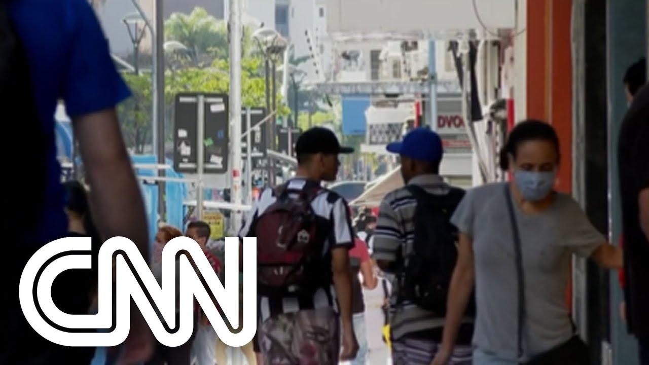 Taxa de transmissão da Covid-19 volta a crescer no Brasil | CNN DOMINGO
