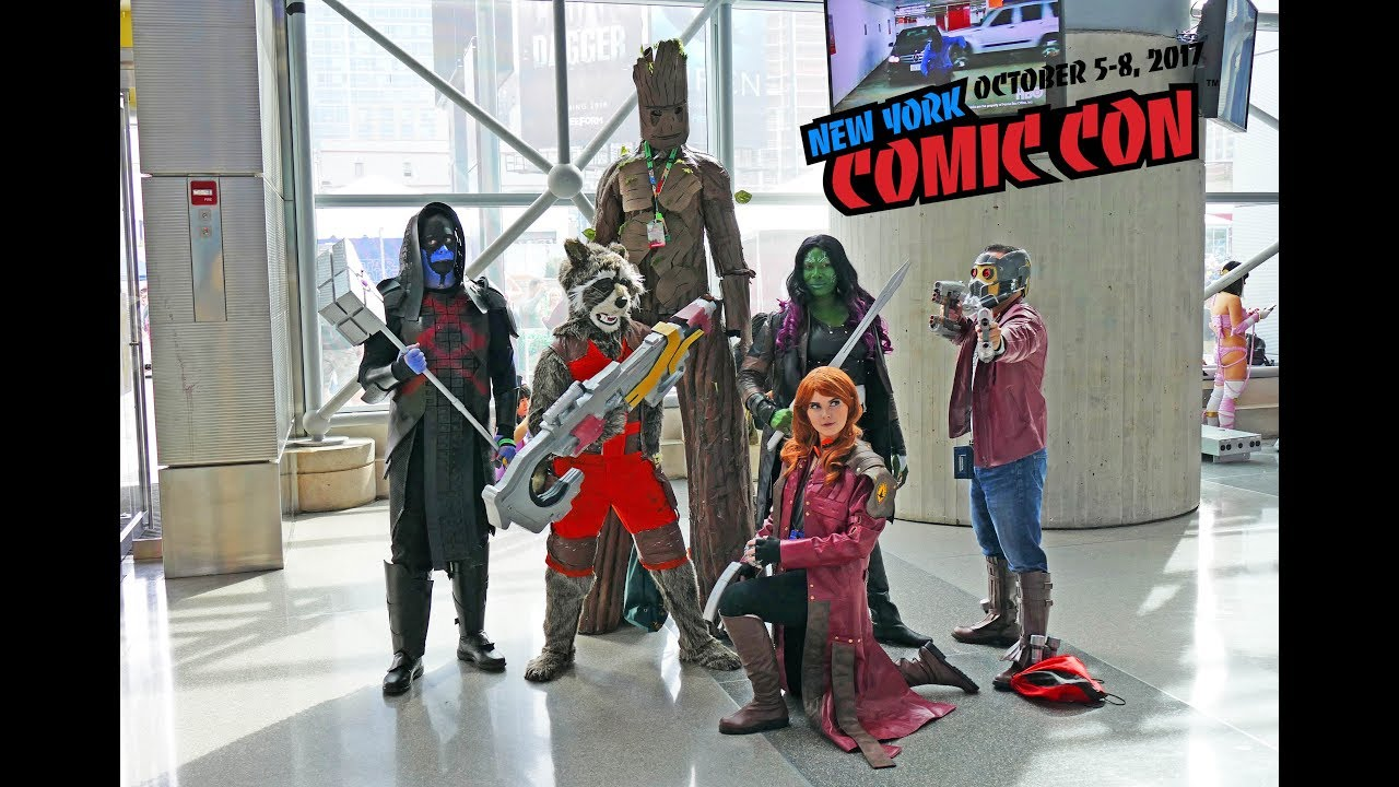 New York Comic Con 2017 Cosplay And Comics At Nycc