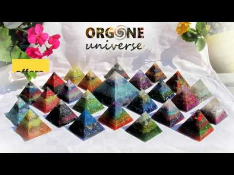 What is Orgonite? | Orgone Pyramid with Chakra Stones/Crystals and Epoxy Resin