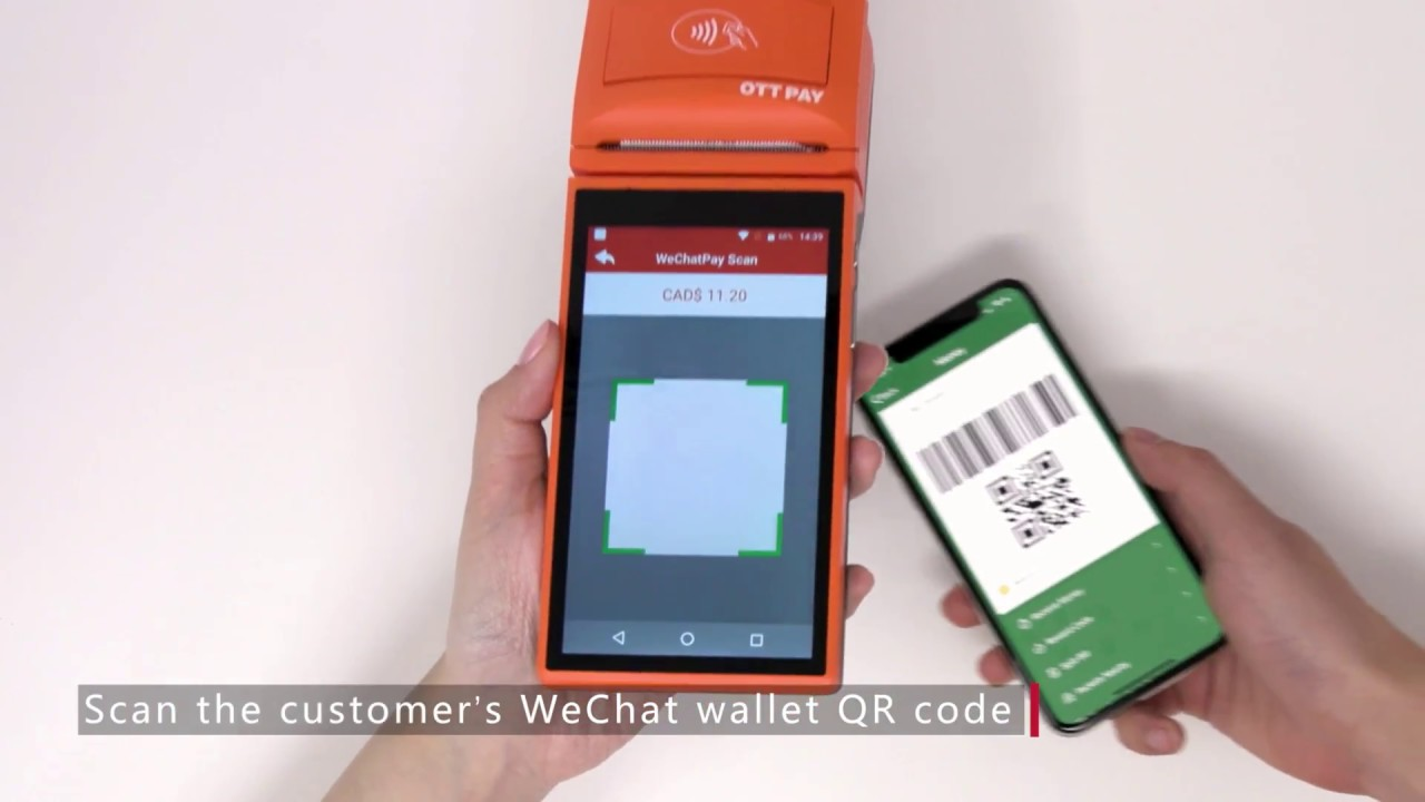 OTT Pay Smart POS Terminal User Guide: How to Complete a Purchase