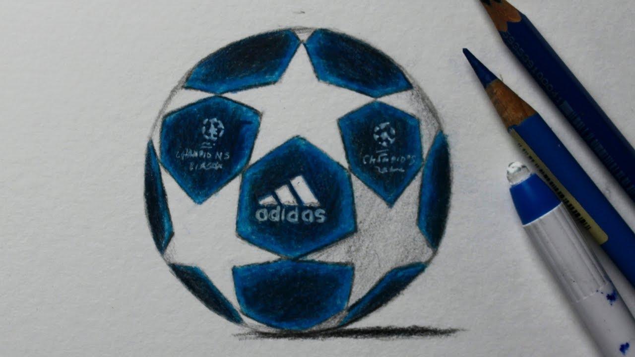 Como Desenhar A Bola Da Champions League Passo A Passo Comentado