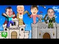 Minecraft Castle Challenge Bros vs Bros by HobbyKidsGaming