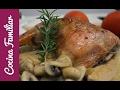Pollo asado con salsa de champiñones | Javier Romero Cap. 46 - Temporada 1