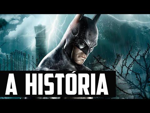 Sessão Spoiler - A História de Batman: Arkham Asylum