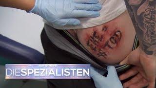 Tattoo-Fail: Ein intimes Problem | Auf Streife - Die Spezialisten | SAT.1 TV