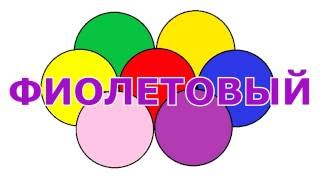 Учим цвета с мячиками на русском Развивающее видео для детей