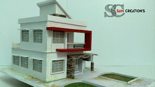 MODEL MAKING OF MODERN ARCHITECTURAL BUILDING #3 thumbnail