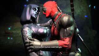 Deadpool  - Cutscene - Deadpool And Death Lady  Hot Romance In…