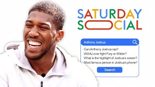 Anthony Joshua Answers the Web's Most Searched Questions About Him | Autocomplete Challenge
