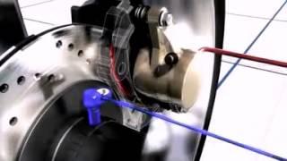 видео Устройство тормозной системы Калина