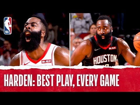 James Harden's Best Plays From Every Game!