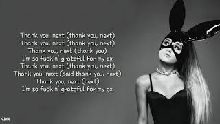 Ariana Grande - thank u, next (lyric)
