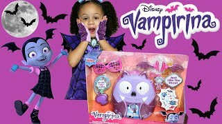 Disney Vampirina Bootastic Backpack Set with Costume Imani's Family Fun World