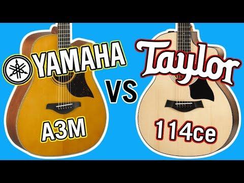 Taylor 114ce vs Yamaha A3M Comparison
