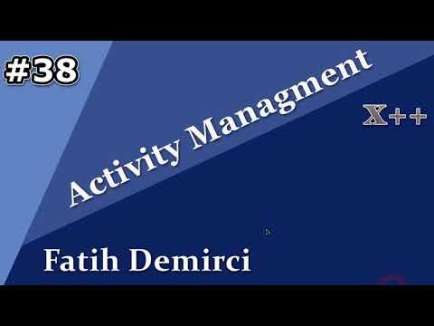 X++ :Activity Managment 38- Date Effectiveness Feature