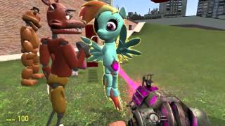 - Playing in garry s mod and doing a mlp fnaf rp