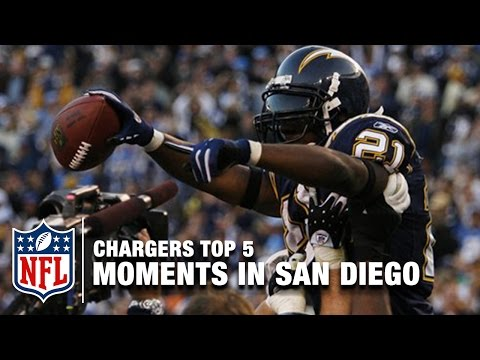 Chargers Top 5 Moments in San Diego | NFL