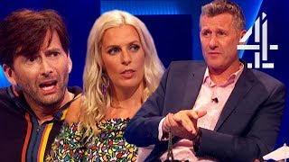 David Tennant & Sara Pascoe On Whether Funeral Ads Are Offensive? | The Last Leg