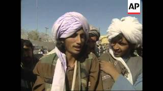 Taliban crossing border + wounded in hospital