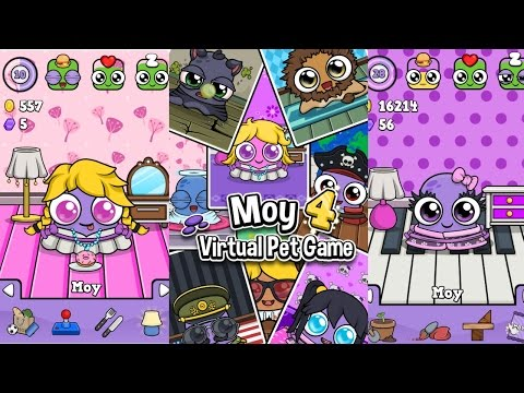 Moy 4 - Virtual Pet Game Android Gameplay
