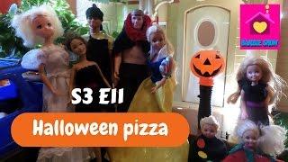 (english sub)Barbie show-Una famiglia imperfetta S3E11:Halloween pizza(parte 1)