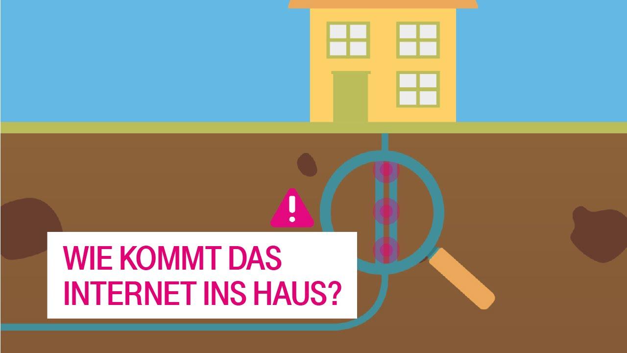Wie Kommt Das Internet Ins Haus?