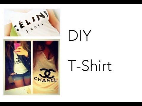 DIY [Céline Paris T-Shirt]