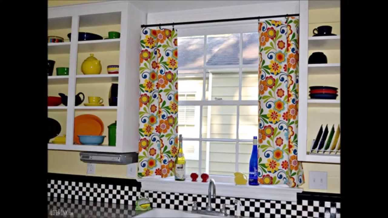 Elegant Country Kitchen Curtain
