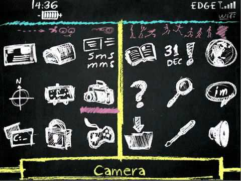 chalkboard theme for blackberry youtube
